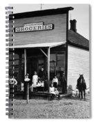 Nebraska Grocery Store Spiral Notebook
