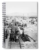 Nebraska Railroad Work Spiral Notebook