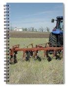 Nebraska Wheat Field Spiral Notebook