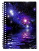 Nebula Reflection Spiral Notebook
