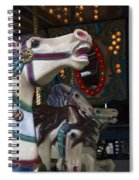 Neck And Neck Spiral Notebook