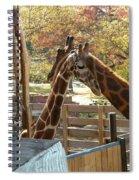 Neck 'n Neck Spiral Notebook