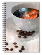 Nectar From Heaven - Coffee Art By Sharon Cummings Spiral Notebook