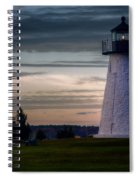 Ned's Point Light Spiral Notebook