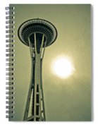 Needle In A Cloud Stack Spiral Notebook