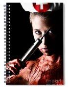 Needle Spiral Notebook