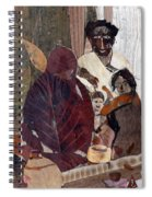 Needy Family Spiral Notebook