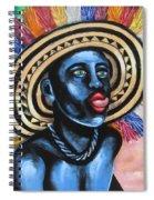 Negrito In Carnival 2 Spiral Notebook