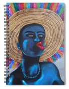 Negrito In Carnival Spiral Notebook