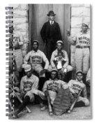 Negro Baseball Spiral Notebook