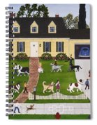 Neighborhood Dog Show Spiral Notebook