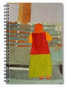 Neighborhood Shopping In Istanbul Spiral Notebook