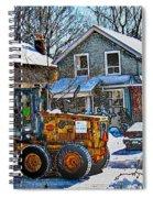 Neighbourhood Snowplough 2 Spiral Notebook