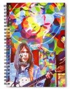 Neil Young-crazy Horse Spiral Notebook