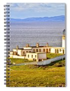 Neist Point Lighthouse Isle Of Skye Spiral Notebook