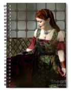 Nell Gwynn Meets The King Spiral Notebook