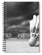 Nelson Akins Art Museum In Infrared Spiral Notebook