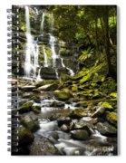 Nelson Falls Tasmania Spiral Notebook