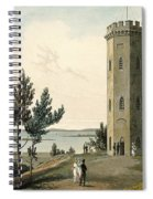 Nelsons Tower, Forres, From A Voyage Spiral Notebook