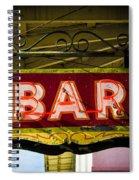 Neon Bar Spiral Notebook