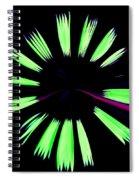 Neon Dreams Spiral Notebook
