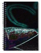Neon Heart Spiral Notebook