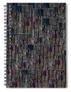 Neon Lights Spiral Notebook