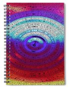 Neon Water Puddle Spiral Notebook