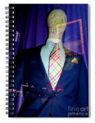 Neon Reflections Spiral Notebook