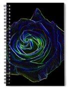 Neon Rose 5 Spiral Notebook