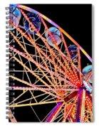Neon Spin Spiral Notebook