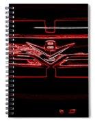 Neon Truck Grill Spiral Notebook