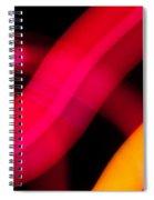 Neon Worms Spiral Notebook