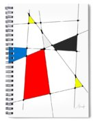 neoplasticism 10 III Spiral Notebook