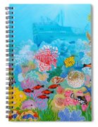 Neptune Kingdom Spiral Notebook