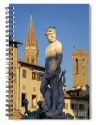 Neptune Statue - Florence Spiral Notebook