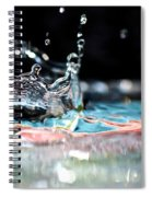 Neptune's Crown Spiral Notebook