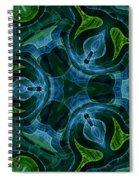 Neptunes Garden Spiral Notebook