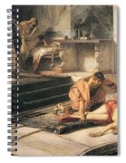 Nero And Agrippina Spiral Notebook