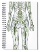 Nervous System, Illustration Spiral Notebook