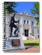 Ness County Courthouse In Kansas Spiral Notebook