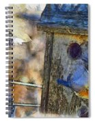 Nest Building Time Spiral Notebook