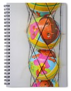 Net Balls Spiral Notebook