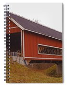 Netcher Road Covered Bridge Spiral Notebook