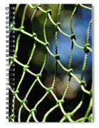 Netting - Abstract Spiral Notebook
