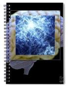 Neuron And Brain Spiral Notebook