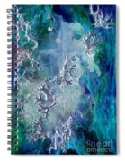 Neuronal Lunar Essence Spiral Notebook