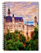 Neuschwanstein Castle Spiral Notebook