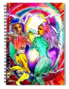 Neutron Dance Spiral Notebook