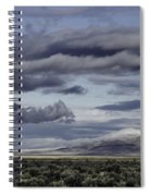 Nevada Blue Skies Spiral Notebook